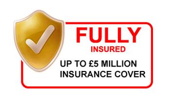 £5M public liability insurance